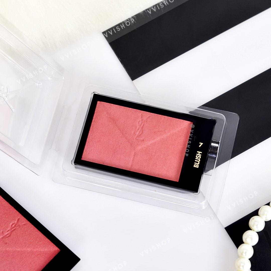 YSL Yves Saint Laurent Couture Blush 3g (Demo) : No.7 Pink A Porter