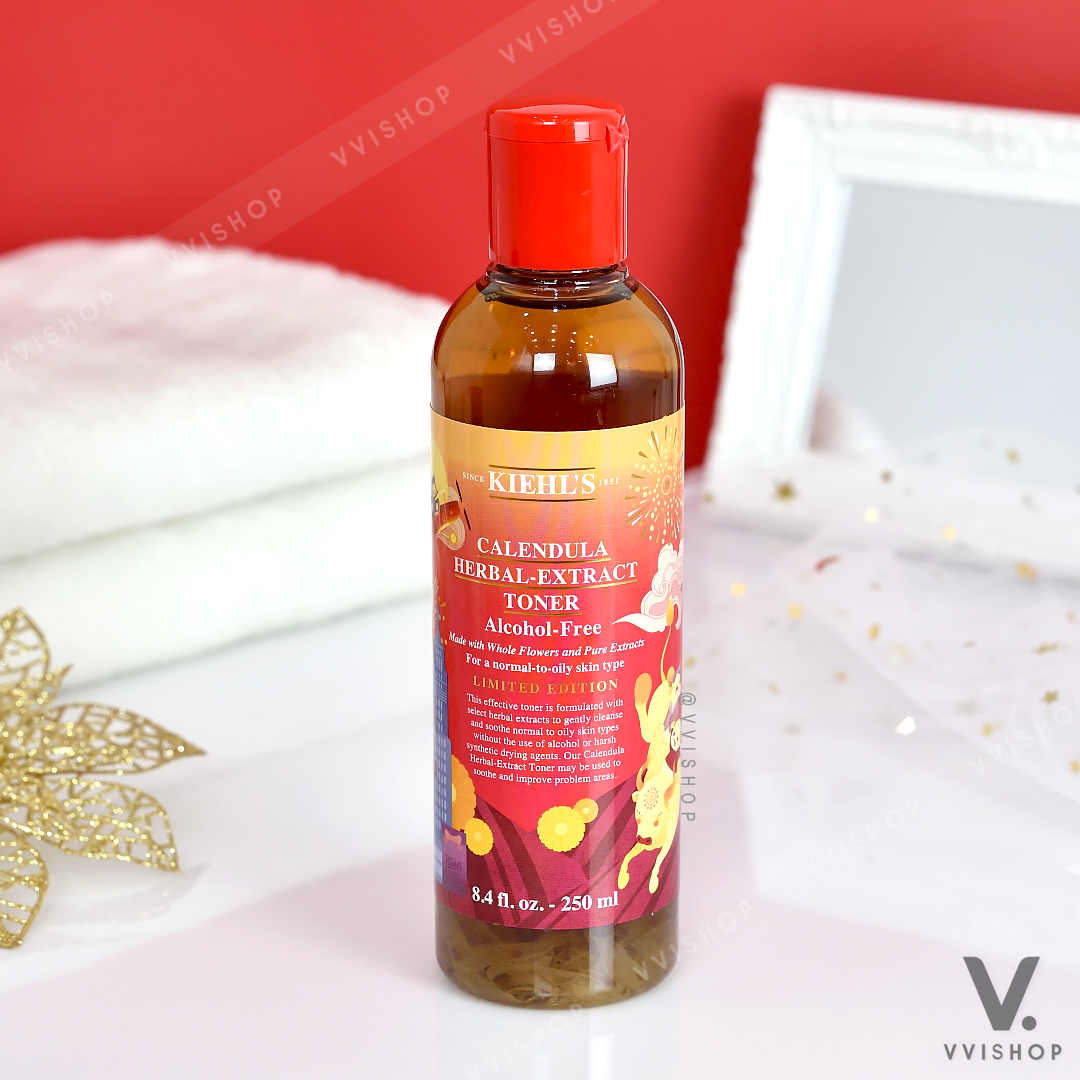 Kiehl's Calendula Herbal-Extract Toner Alcohol-Free 250 ml. Lunar New Year Limited Edition