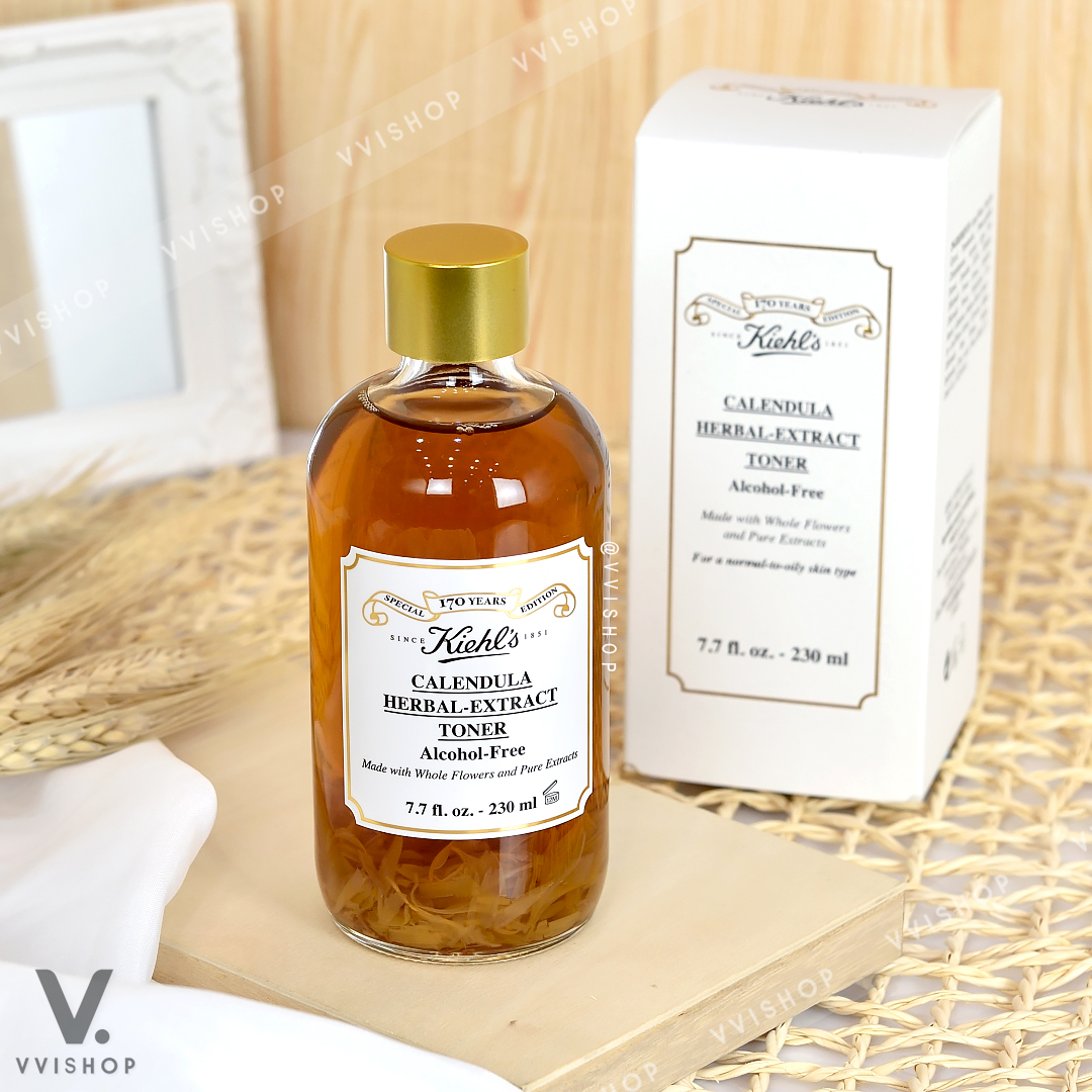 Limited Edition 170th Anniversary Kiehl's Calendula Herbal-Extract Toner Alcohol-Free 230 ml.